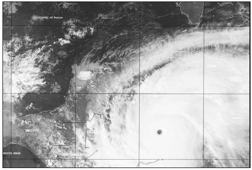 Hurricane Mitch (October 1998), a category 5 storm, was the deadliest hurricane since 1780. (Courtesy of National Oceanic and Atmospheric Administration (NOAA).)